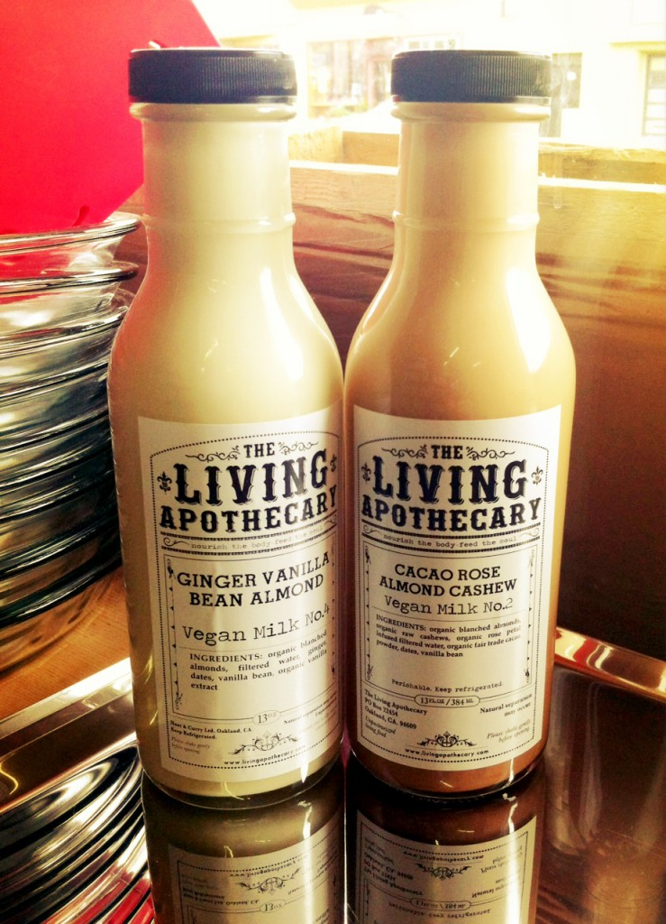 Living Apothecary vegan milk