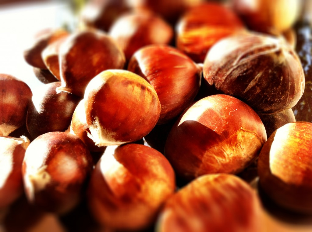 certified organic chestnuts